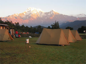 Australian Camp + Chandrakot Trek